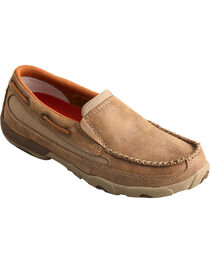 Twisted X Women's Leather Driving Moccasins, , hi-res