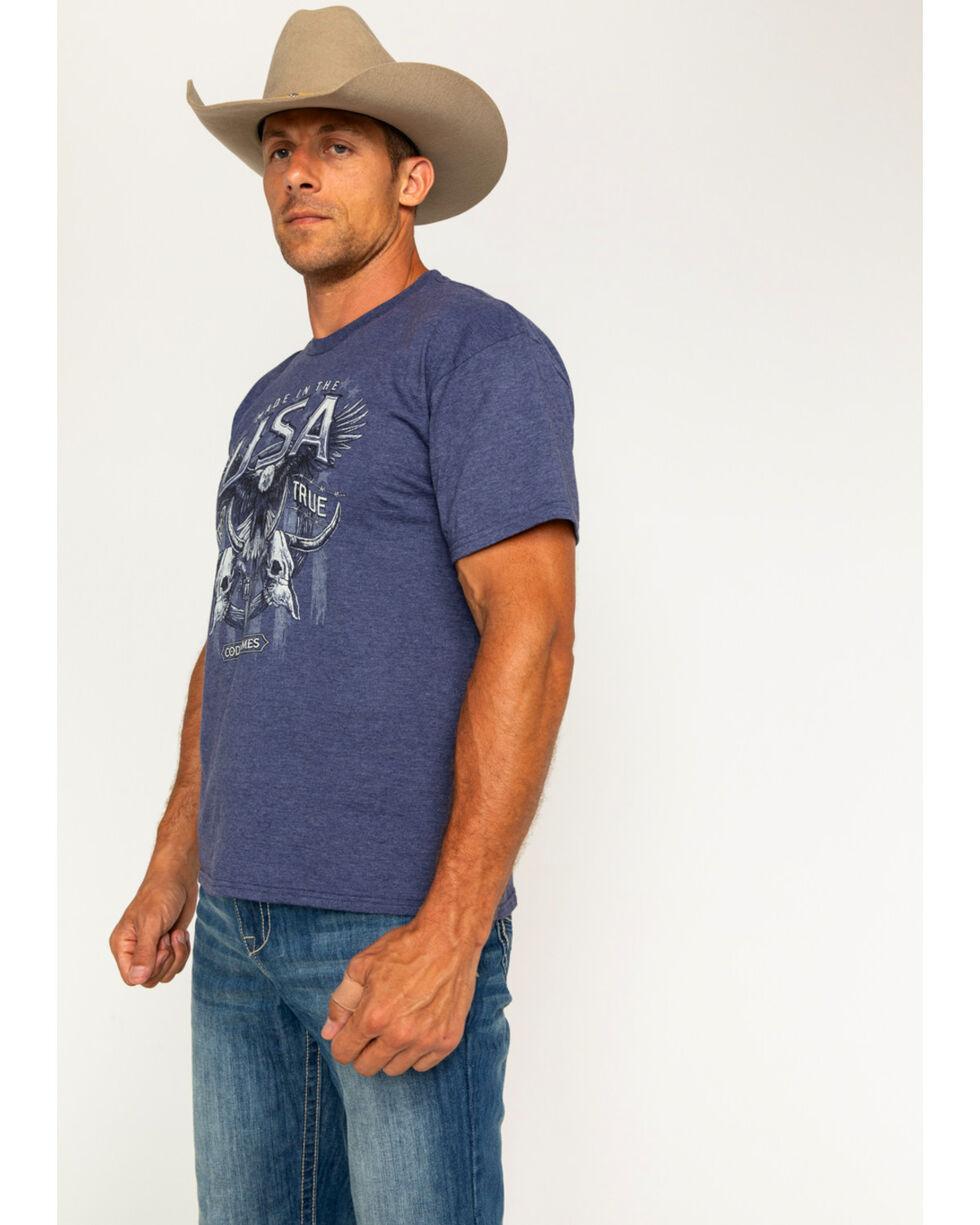 Cody James Men's USA Tried and True T-Shirt, Blue, hi-res
