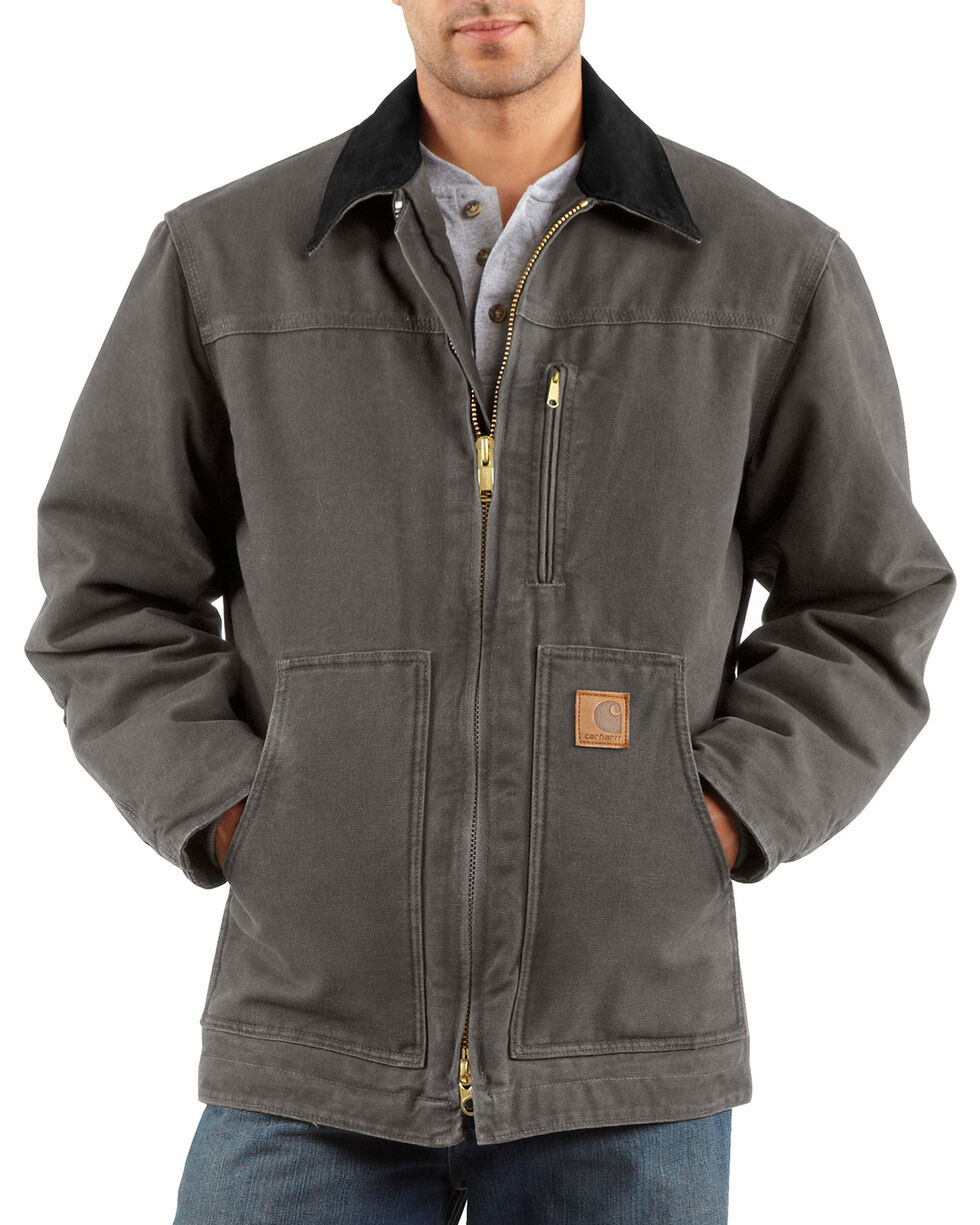Carhartt Sandstone Ridge Work Coat, Grey, hi-res