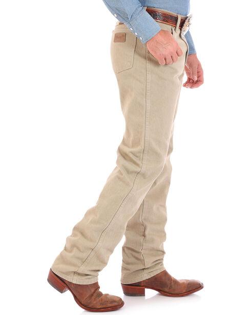 Wrangler Cowboy Cut Prewashed Khaki Original Fit Jeans, Khaki, hi-res