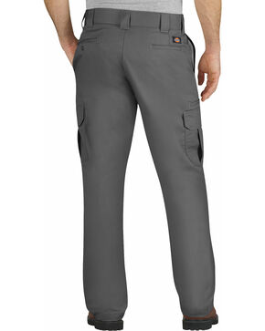 Dickies Flex Regular Fit Straight Leg Cargo Pants, Dark Grey, hi-res