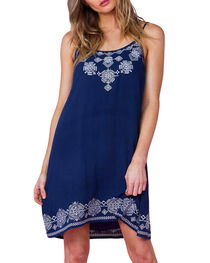 Miss Me Women's Embroidered Sundress, , hi-res