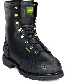 """John Deere® Men's 9"""" Insulated Miner Work Boots, , hi-res"""