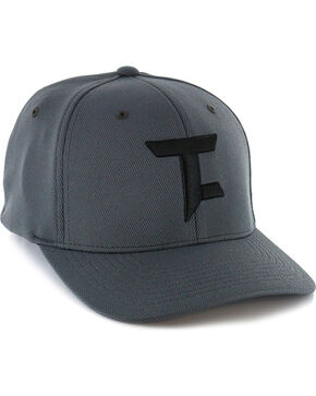 Tuf Cooper by Panhandle Men's FlexFit Ball Cap, Black, hi-res