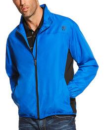Ariat Men's Blue Ideal Windbreaker Jacket , , hi-res