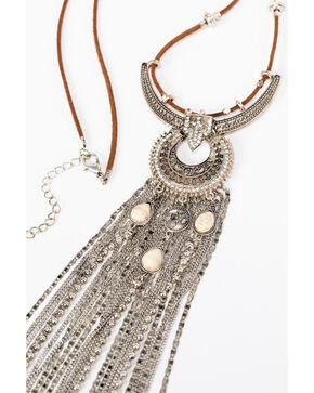 Shyanne® Women's Chain Dangle Necklace, Silver, hi-res