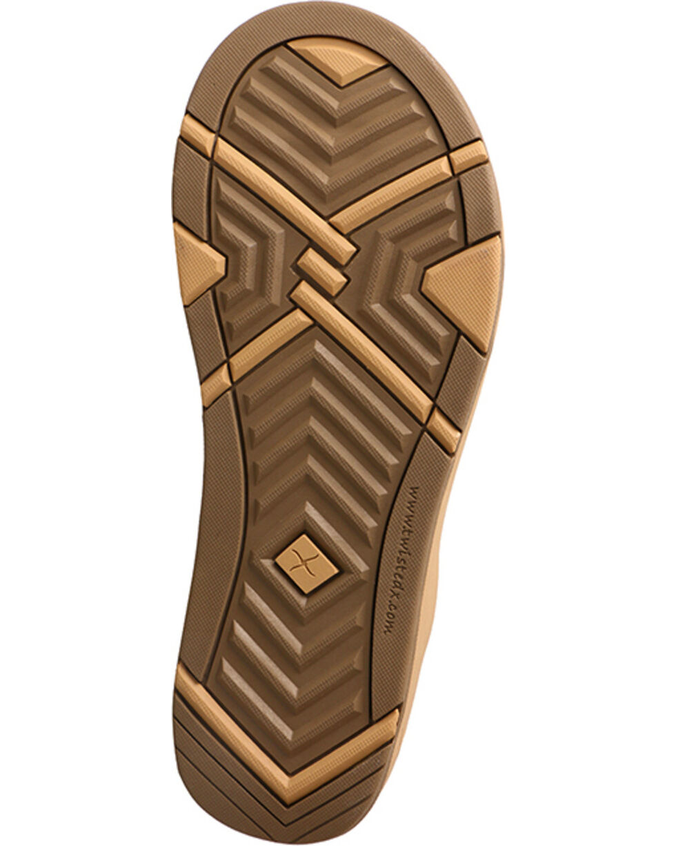 Twisted X Women's Woven Strap Sandal, Tan, hi-res