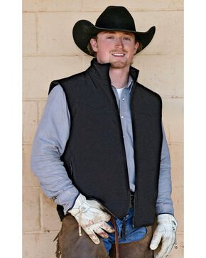STS Ranchwear Men's Ewing Reversible Grey Vest - Big & Tall - 2XL-3XL, Grey, hi-res