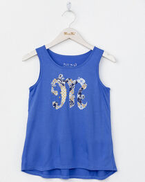 Miss Me Girls' Logo Tank Top, , hi-res