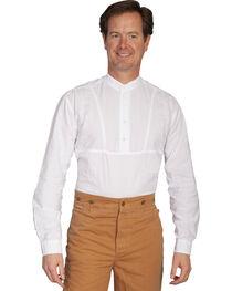 Rangewear by Scully Dobby Stripe Inset Bib Shirt - Big and Tall, , hi-res