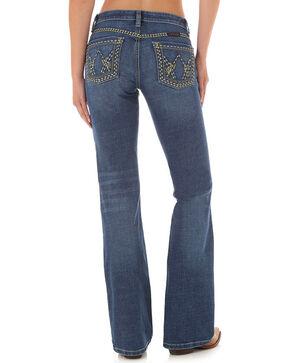 Wrangler Women's Shiloh Boot Cut Jeans, Blue, hi-res