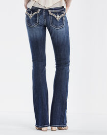 Miss Me Women's Rhinestones and Studs Jeans - Boot Cut, , hi-res