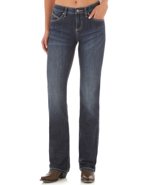 Wrangler Women's Ultimate Riding Q-Baby Jeans , Indigo, hi-res