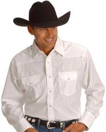 Wrangler Men's Western Silver Edition Shirts, , hi-res