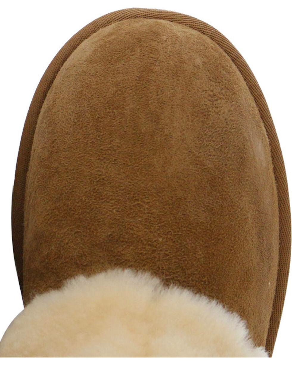 UGG Australia Women's Chestnut Patten Boots - Round Toe , Chestnut, hi-res