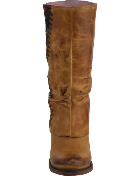 Lane Women's El Paso Western Boots, Tan, hi-res