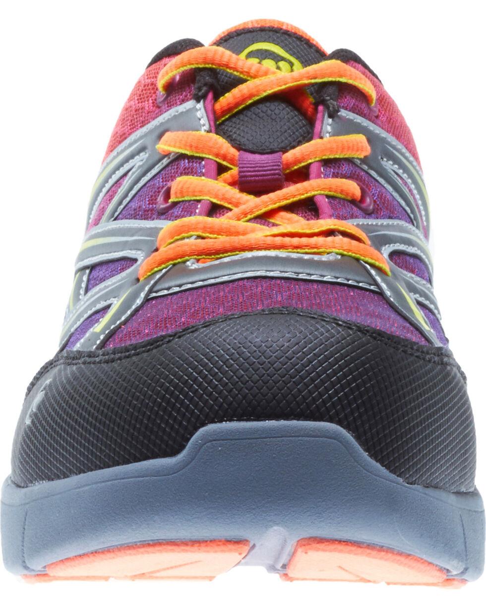 Wolverine Women's Jetstream Work Shoes - Composite Toe, Orange, hi-res