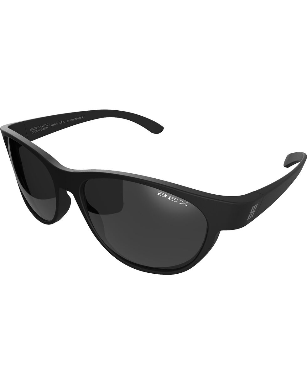 Bex Men's Ryann Polarized Black/Grey Sunglasses, Grey, hi-res