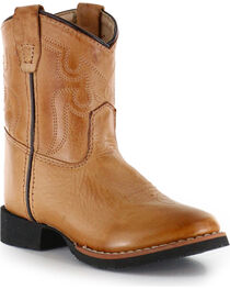 Cody James® Toddler's Showdown Round Toe Western Boots, , hi-res