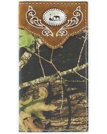 Nocona Boys' Mossy Oak Cowboy Prayer Concho Wallet, , hi-res