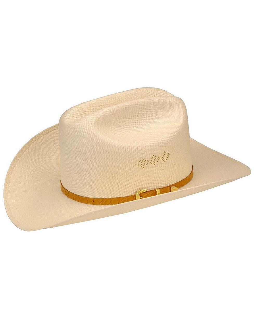 Larry Mahan Men's 15X El Primero Straw Hat, Ivory, hi-res