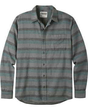 Mountain Khakis Men's Deep Jade Fall Line Flannel Shirt , Green, hi-res