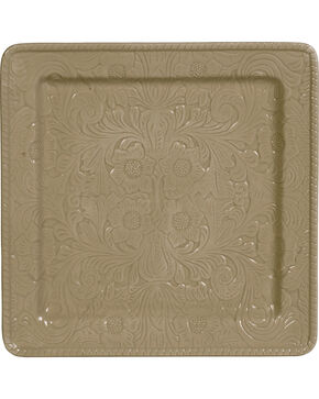 HiEnd Accents Savannah Serving Plate, Taupe, hi-res