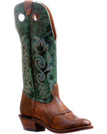 Boulet Buffalo Bill Matte Cowboy Boots - Round Toe , , hi-res