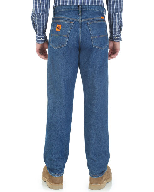 Riggs Workwear Men's FR Relaxed Fit Jeans, Indigo, hi-res