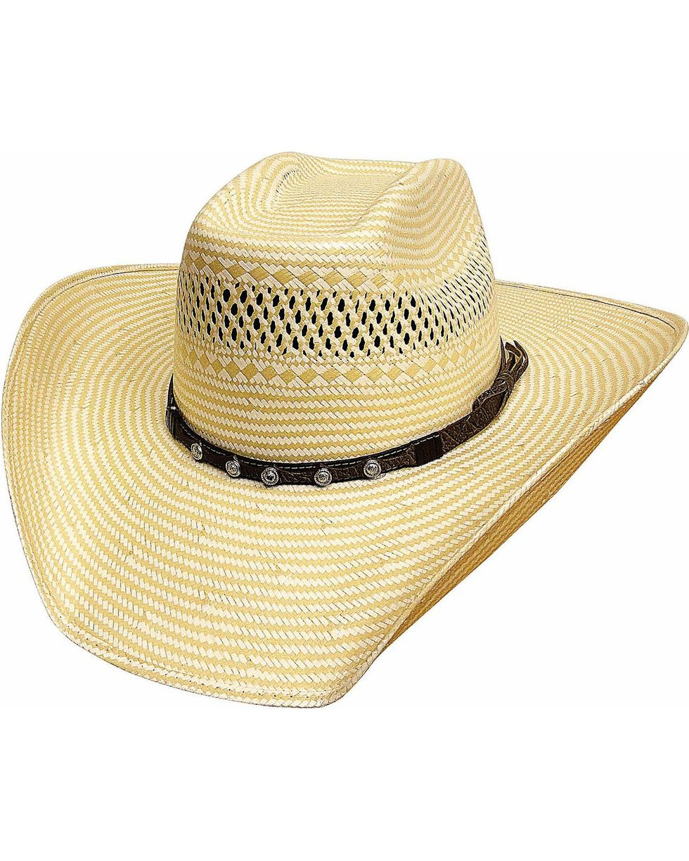 Bullhide Men's Borrowed Time 50X Straw Hat, Natural, hi-res