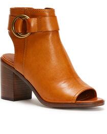 Frye Women's Brown Danica Harness Shoes , , hi-res