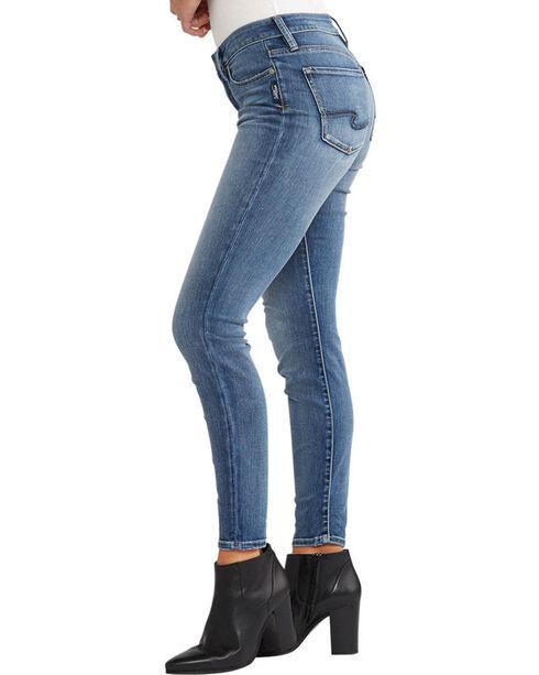 Silver Women's Indigo Bleecker Jeggings - Plus Size, Indigo, hi-res