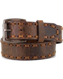 Cody James® Men's Whip-Stitch Belt, , hi-res