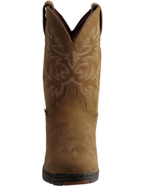 Justin Men's Waterproof Western Boots, Tan, hi-res