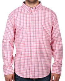 Cody James® Men's Check Patterned Long Sleeve Shirt, , hi-res