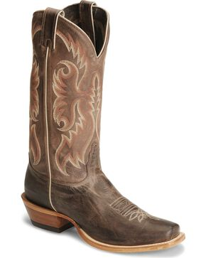 Nocona Men's Legacy Western Boots, Chocolate, hi-res