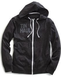 Tin Haul Men's Screen Print Stripe Zip-Up Hoodie, , hi-res