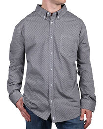 Cody James® Men's Printed Button Down Long Sleeve Shirt, , hi-res