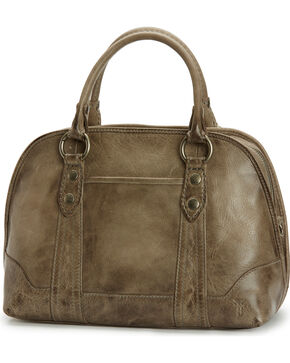 Frye Woman's Melissa Domed Satchel , Grey, hi-res