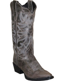 "Rawhide Women's 12"" Scalloped Top Western Boots, , hi-res"