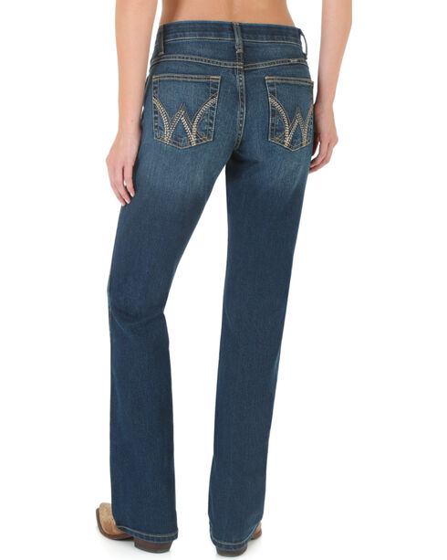 Wrangler Women's Q Baby Cool Vantage Jeans, Denim, hi-res