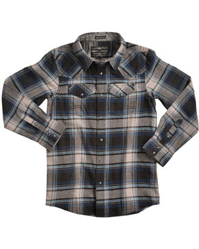 Cody James® Boys' Steam Liner Flannel, Multi, hi-res