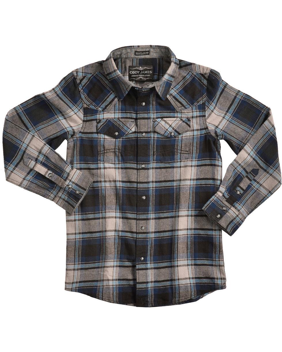 Cody James® Boys' Steam Liner Flannel, , hi-res