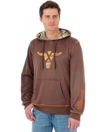 Wrangler 20X Men's Steer Logo & Camo Sweatshirt, , hi-res