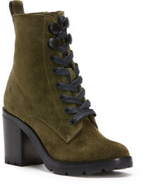 Frye Women's Forest Myra Lug Combat Boots - Round Toe , , hi-res