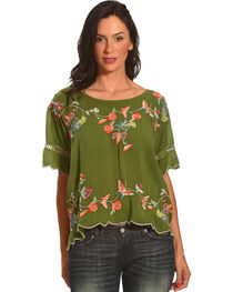 Johnny Was Women's Alivia Blouse, , hi-res