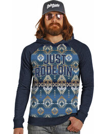 Dale Brisby by Rock & Roll Cowboy Men's Just Rodeoin' Hoodie , , hi-res