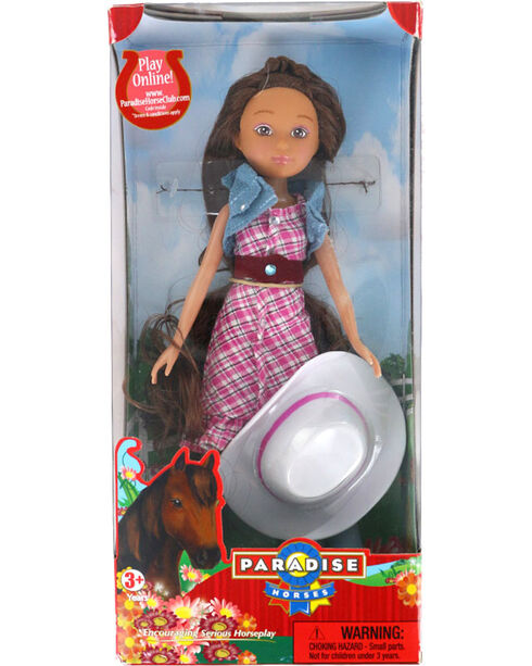 """Paradise Horses Kids 10"""" Cowgirl Doll Daphne by Paradise Kids, No Color, hi-res"""