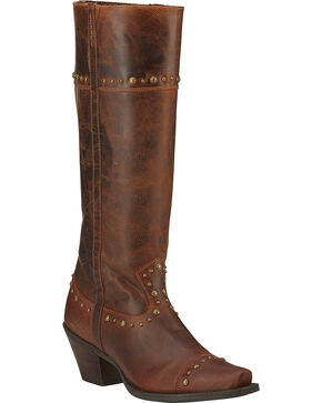 Ariat Women's Marvel Western Fashion Boots, Brown, hi-res