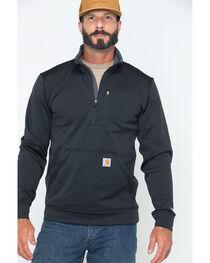 Carhartt Men's Force Extremes Mock-Neck Half-Zip Sweatshirt , , hi-res